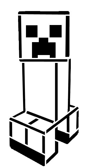 347x638 Drawn Minecraft Minecraft Creeper