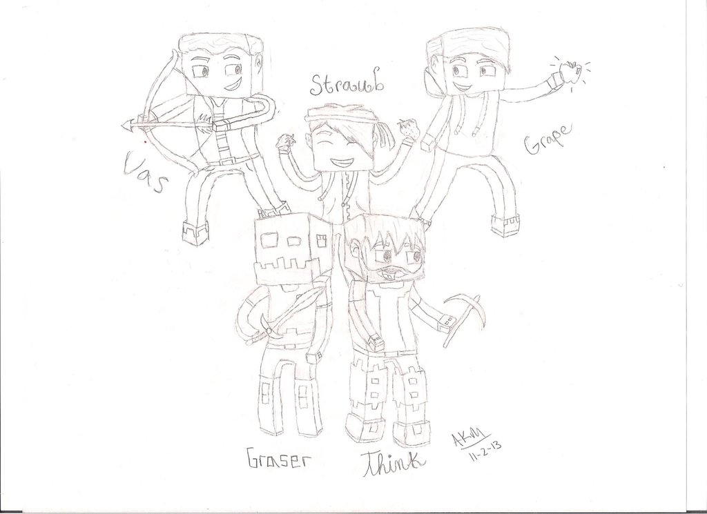 Minecraft Drawing Games At GetDrawings