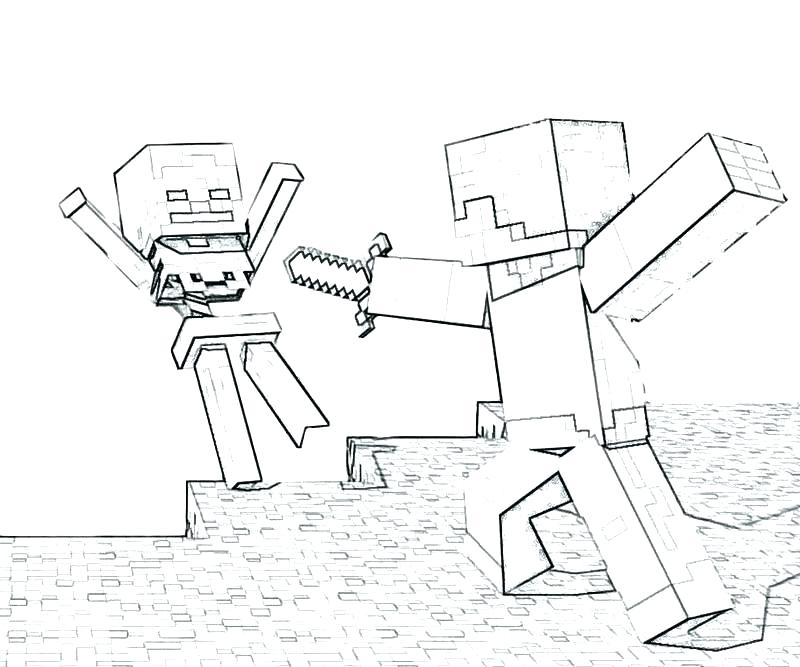 800x667 Free Minecraft Coloring Pages Sword Art Online Coloring Book Free