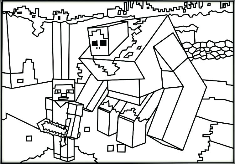 Amazing image throughout free printable minecraft coloring pages