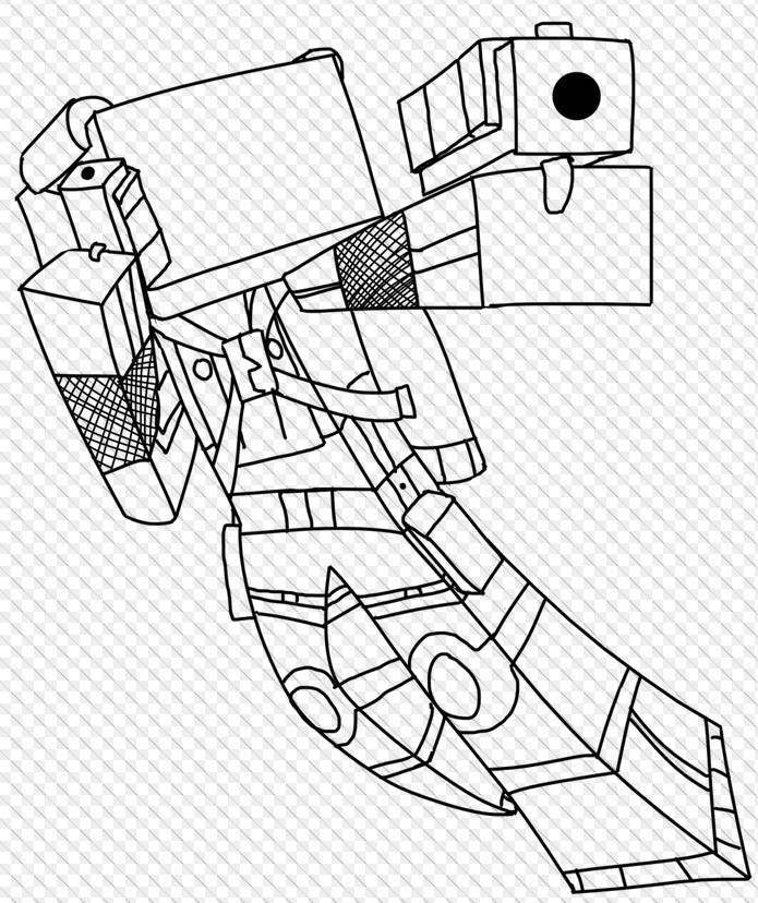 minecraft herobrine coloring pages - photo#26
