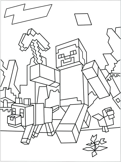 minecraft drawing herobrine at getdrawings com free for personal