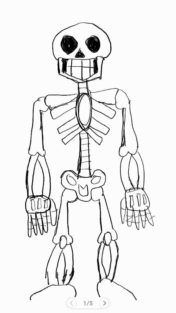 576x1024 How To Draw A Skeleton From Minecraft Step By Step Tags How To