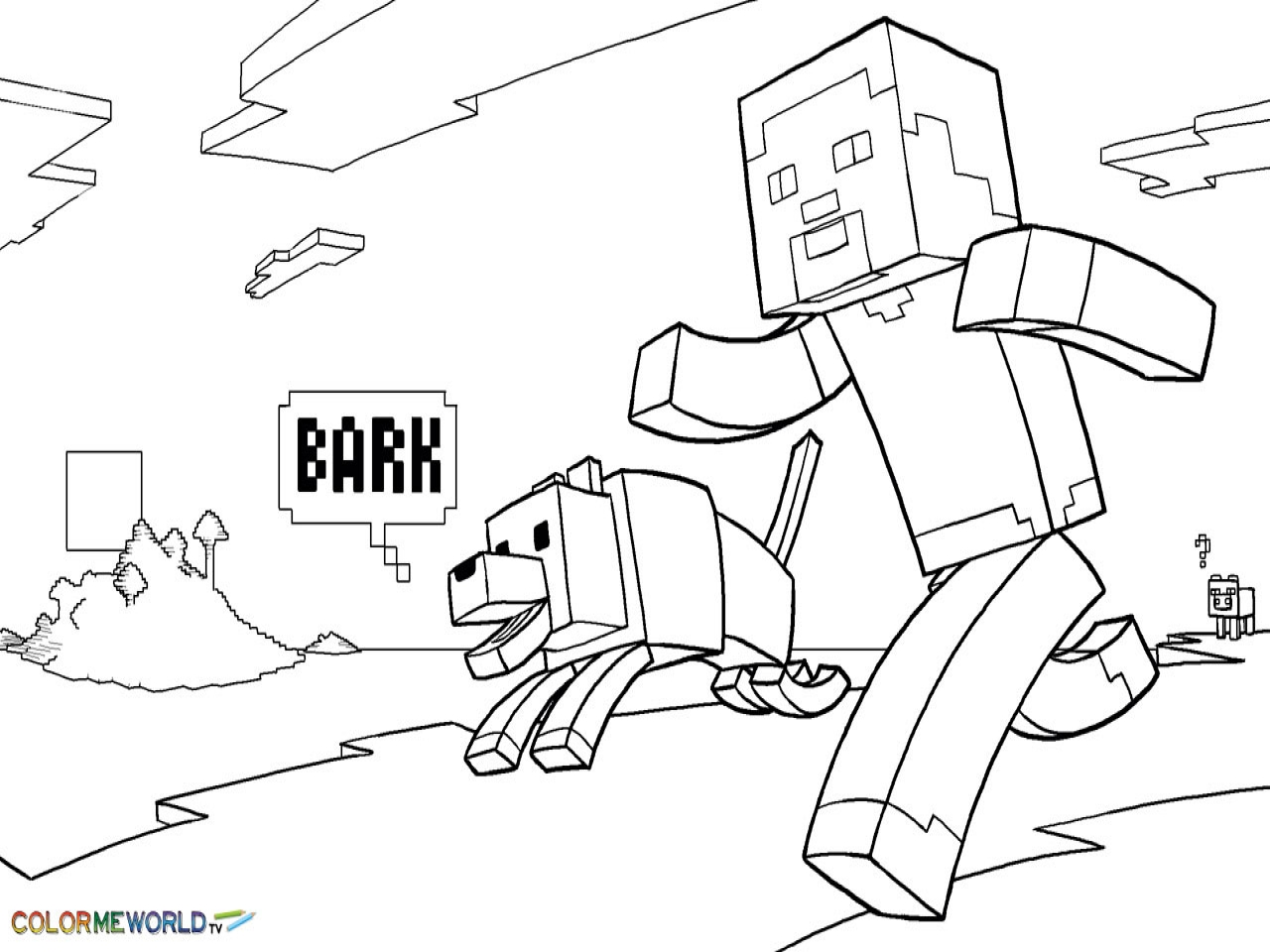 Minecraft Drawing Steve At GetDrawings