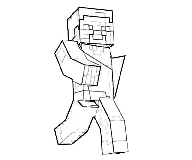 800x667 Coloring Pages For Minecraft Many Interesting Cliparts