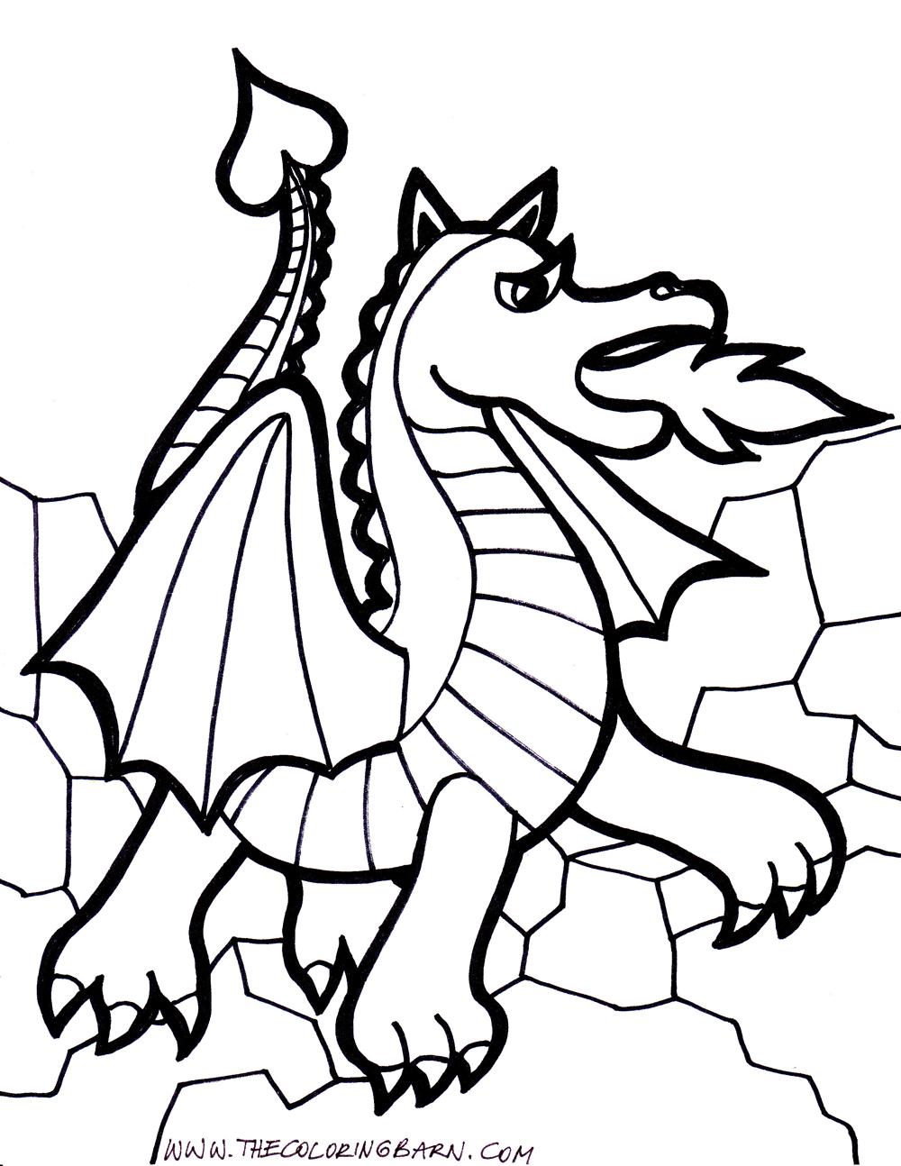 Best Ender Dragon Coloring Pages Leroy Website