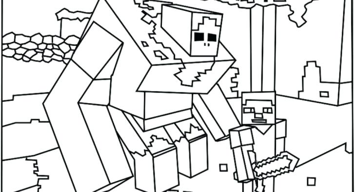 728x393 Coloring Pages Minecraft Ender Dragon Page Squared Best Coloring