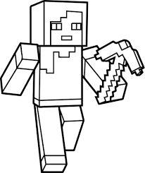 Minecraft Logo Drawing