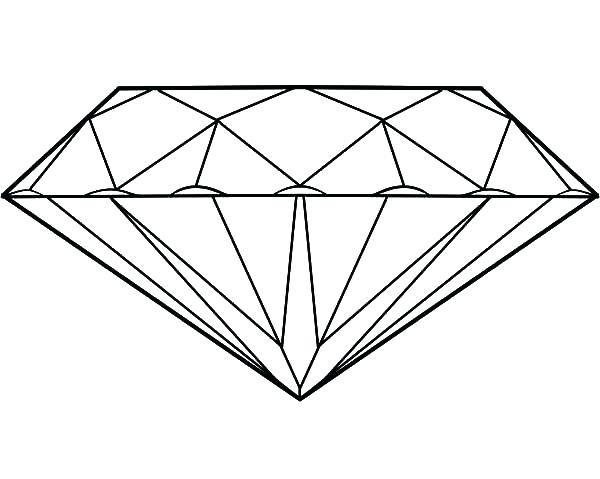 600x479 Diamond Coloring Page Coloring Pages Minecraft Diamond Pickaxe