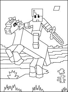 Minecraft Skeleton Drawing At Getdrawings Free Download