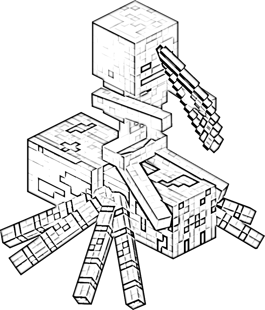 876x1024 Minecraft Skin Coloring Pages