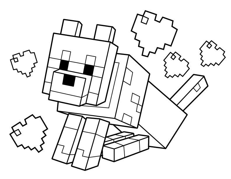 792x612 Minecraft Color Page