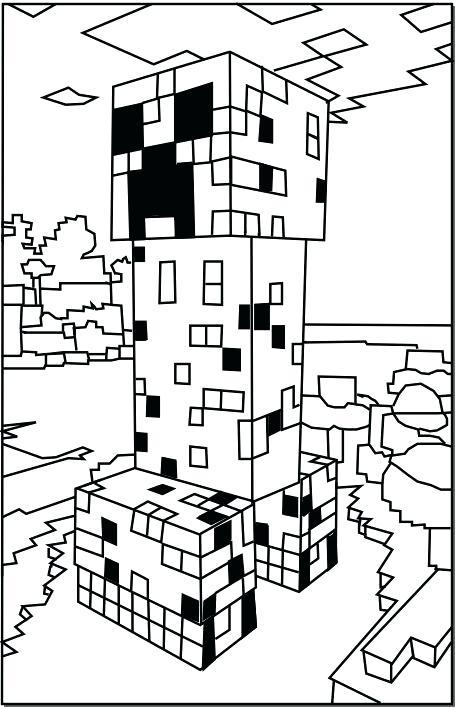 457x708 Minecraft Girl Coloring Pages Free Printable Elf Coloring Pages