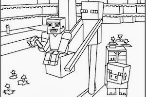 300x200 Minecraft Skins Minecraft Servers Coloring Pictures