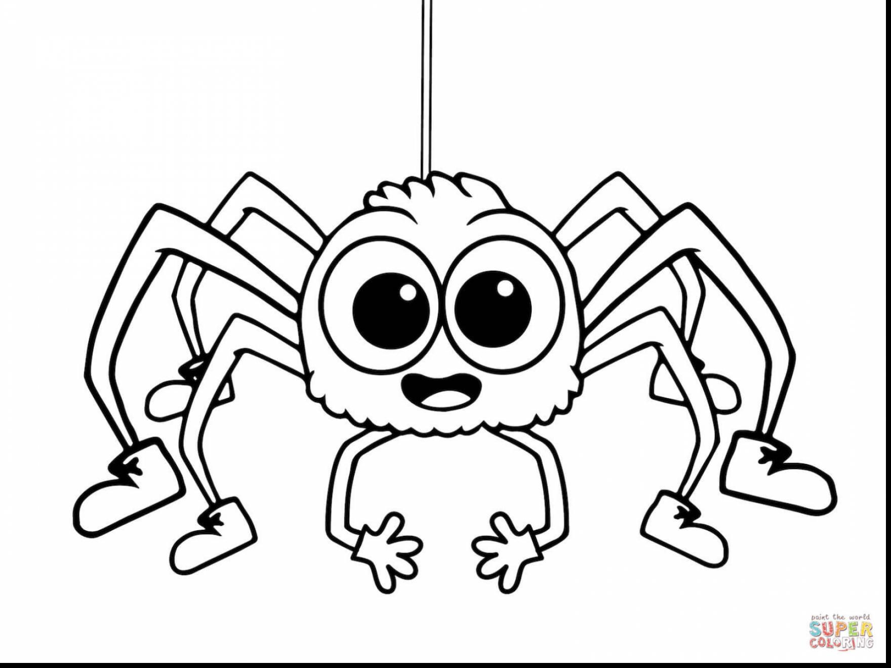 1760x1320 Spectacular Spider Coloring Pages Printable With Spider Coloring