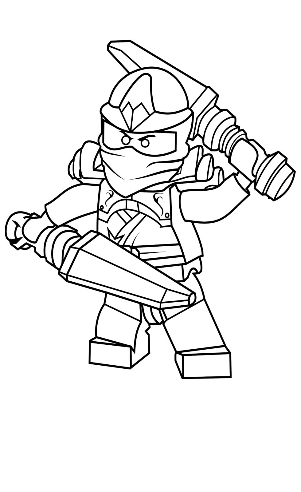 980x1600 Lego Ninjago Coloring Pages For Kids Printable Coloring Sheets