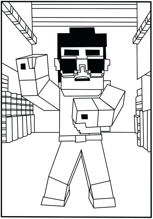 538x766 Minecraft Color Page Coloring Pages Printable Minecraft