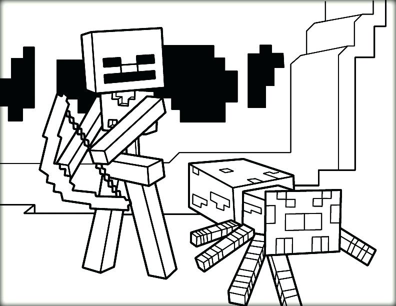 792x612 Minecraft Color Pages Are You Looking For The Best Coloring Page