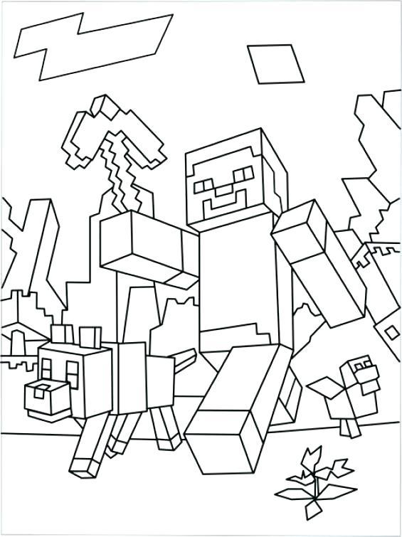 Minecraft Steve Drawing At GetDrawings
