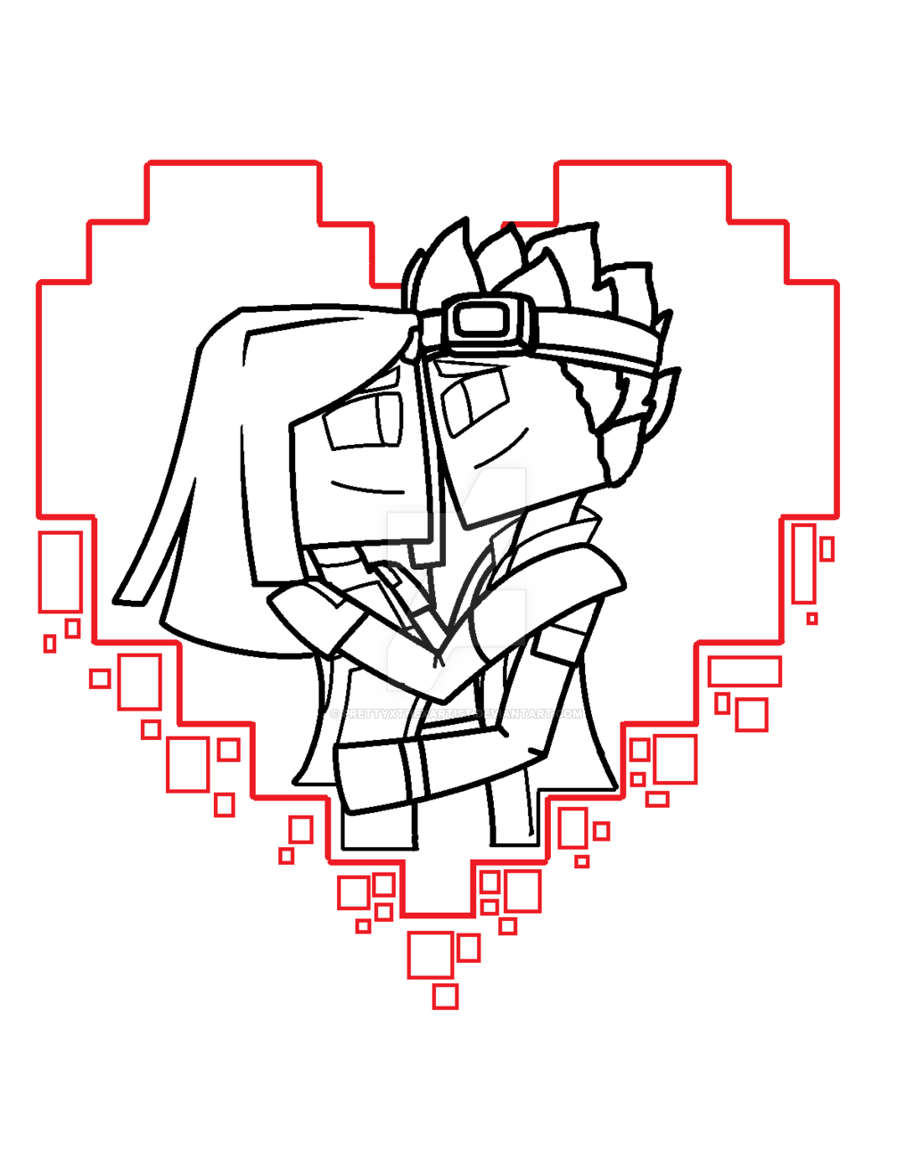 jessie coloring pages minecraft - photo#15