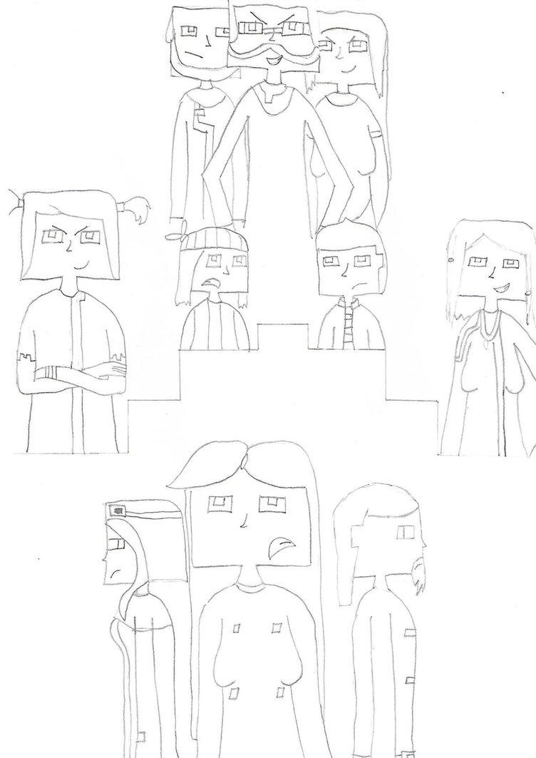 752x1063 Minecraft Story Modea Journeys End W.i.p. By Foxyola