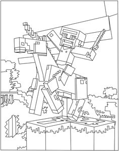 High Quality ... Minecraft Story Mode MBMBaM. 236x300 Smaller Pets Store Colouring Pages  Arc Art Pinterest Pet