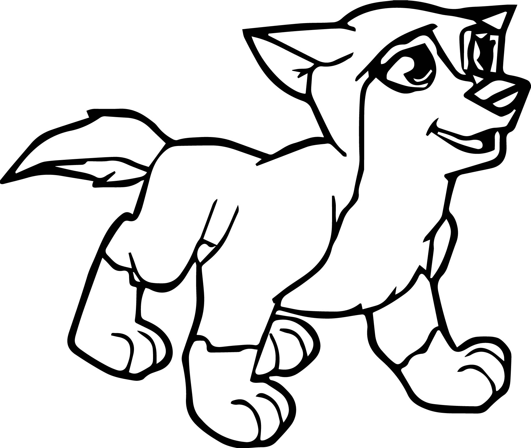 photo relating to Free Printable Wolf Coloring Pages identify Minecraft Wolf Drawing at  Totally free for