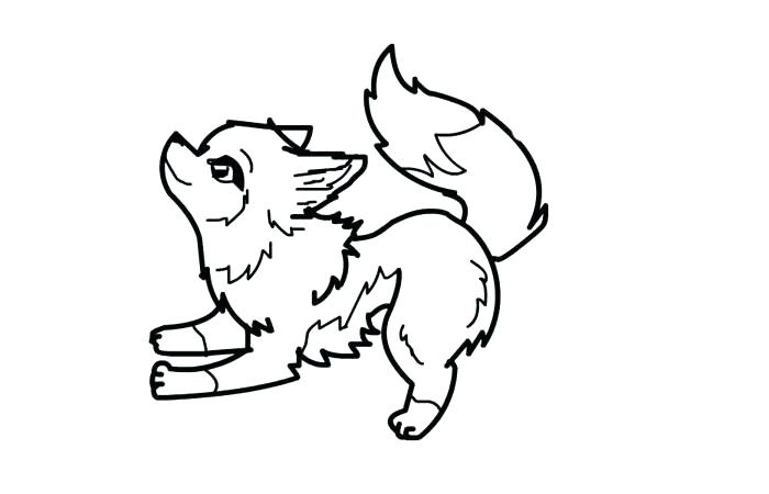 700x450 Coloring Page Wolf Coloring Page Wolf Arctic Wolf Coloring Page 1