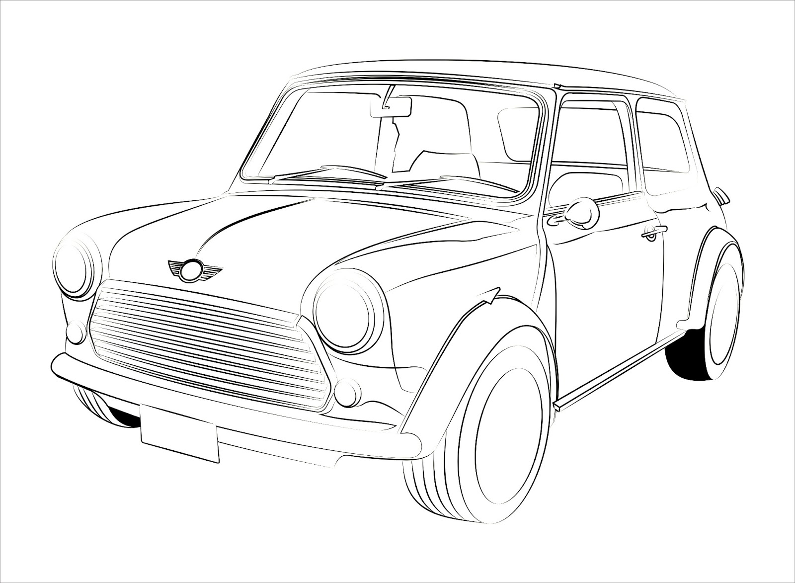 1600x1173 Mini Sketch Traced With Coreldraw Amp Enhanced With Illustrator