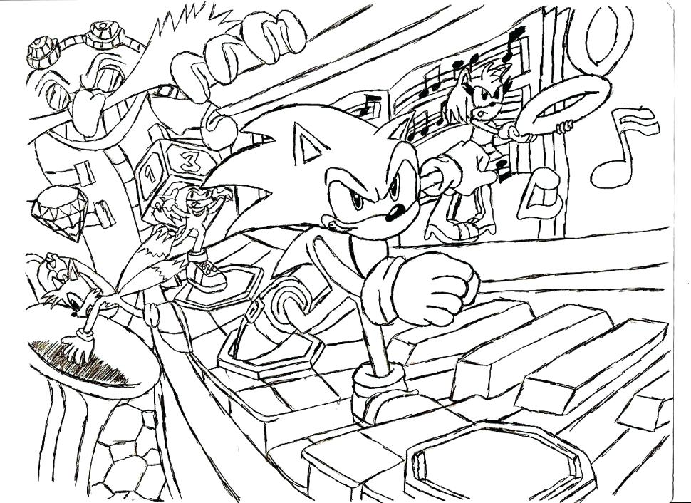 970x706 Mini Coloring Pages The Incredible Mini Golf Coloring Pages