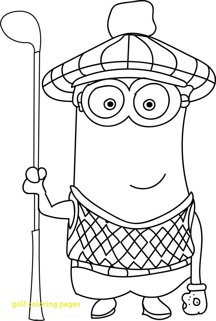 728x1080 Mini Golf Coloring Book Golf Coloring Pages Printable