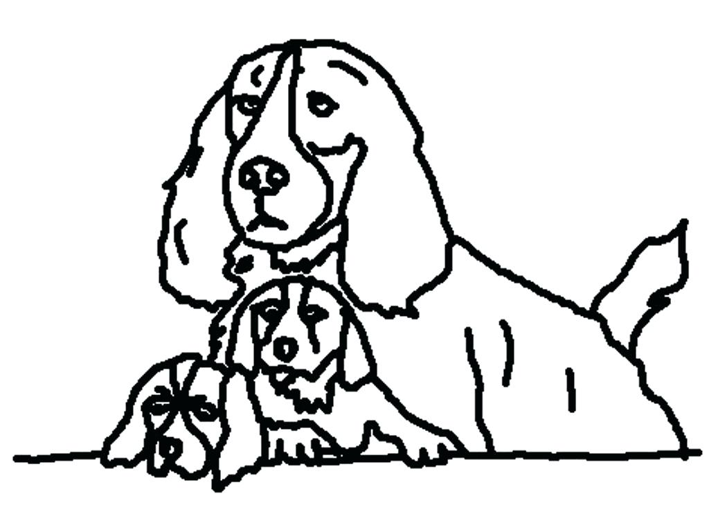 1024x739 Schnauzer Coloring Page Dogs Coloring Pages For Kids Miniature
