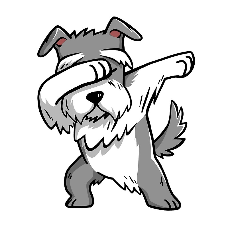 how to draw a schnauzer dog step by step