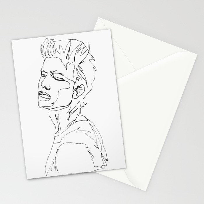 700x700 Minimal Drawing Stationery Cards By Annesbil Society6