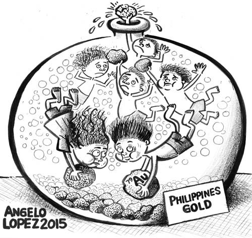 500x473 Children Mining For Gold In The Philippines 01132016 Cartoon By