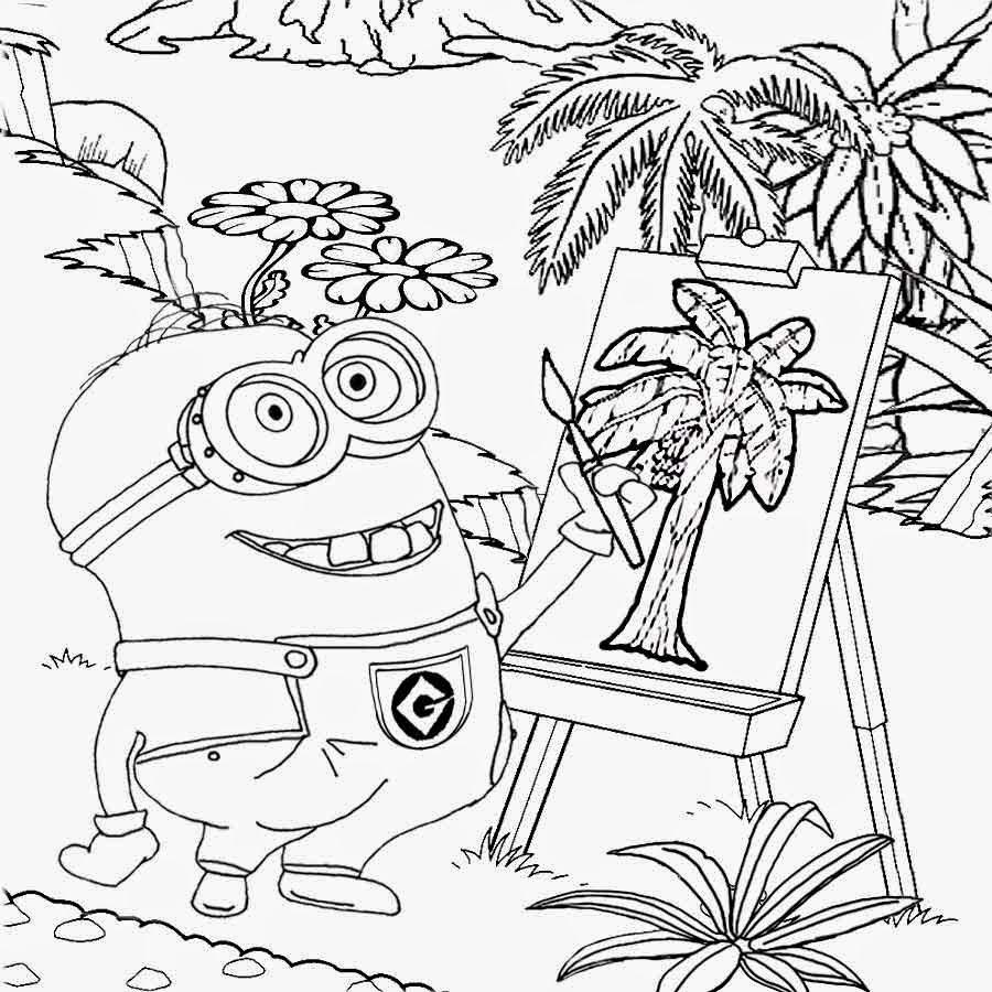 900x900 Drawing Clipart Minion