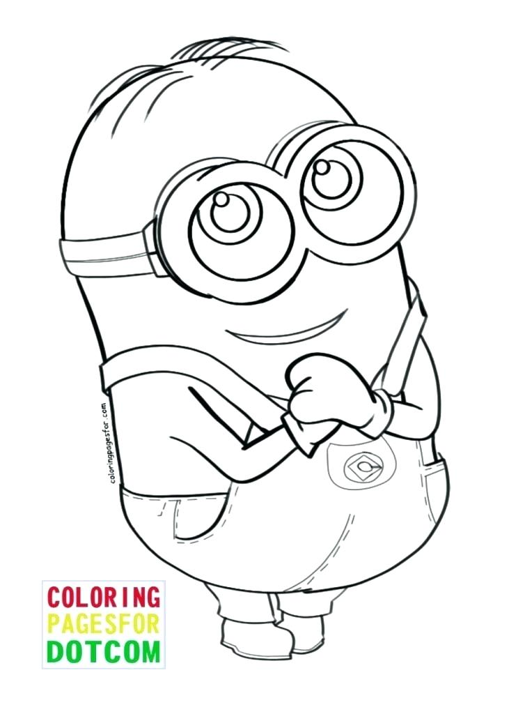 731x1024 Coloring Pages Of Minions Minion Coloring Pages Marvellous Minion