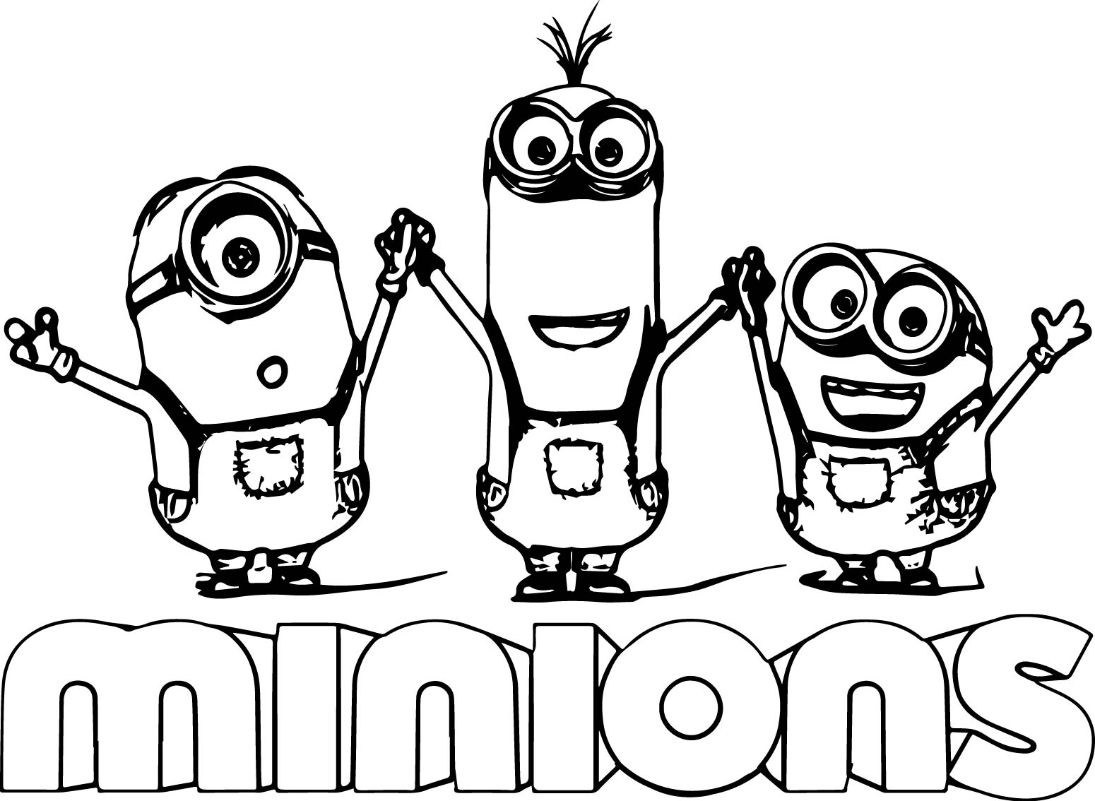 1550x1134 Minion Coloring Pages To Print