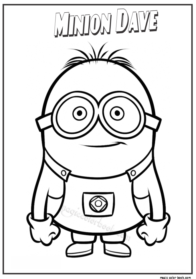 685x975 Minion Dave Coloring Pages For Kids