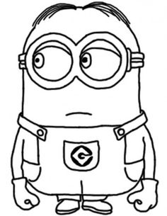 236x305 Printable Despicable Me Minions Printable Coloring Pages Kids