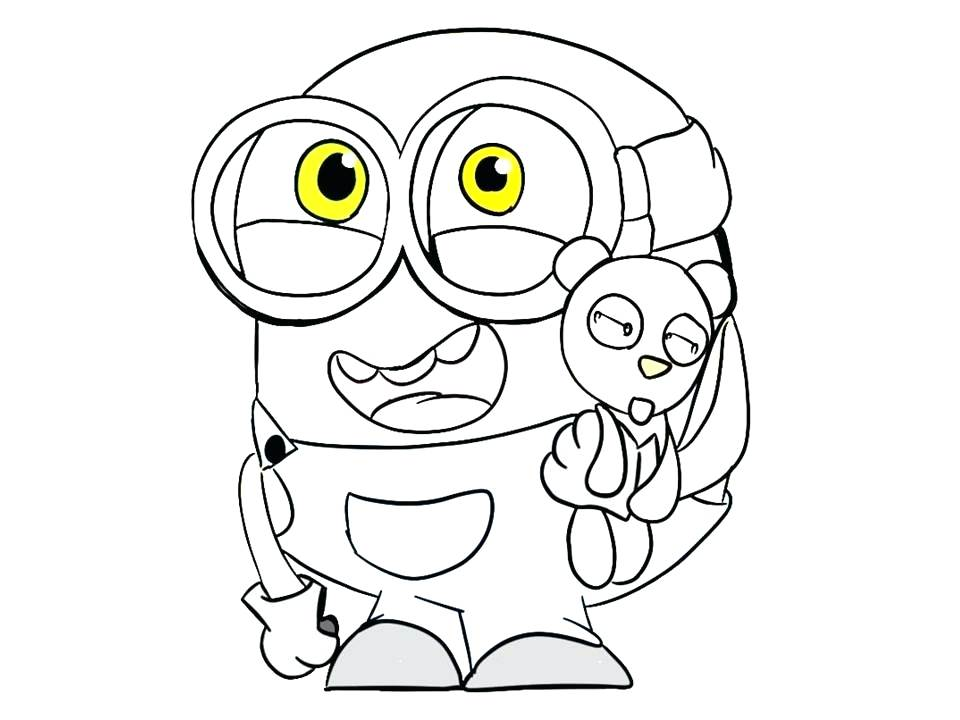 960x720 Good Minion Coloring Pages To Print And Coloring Pages For Girls