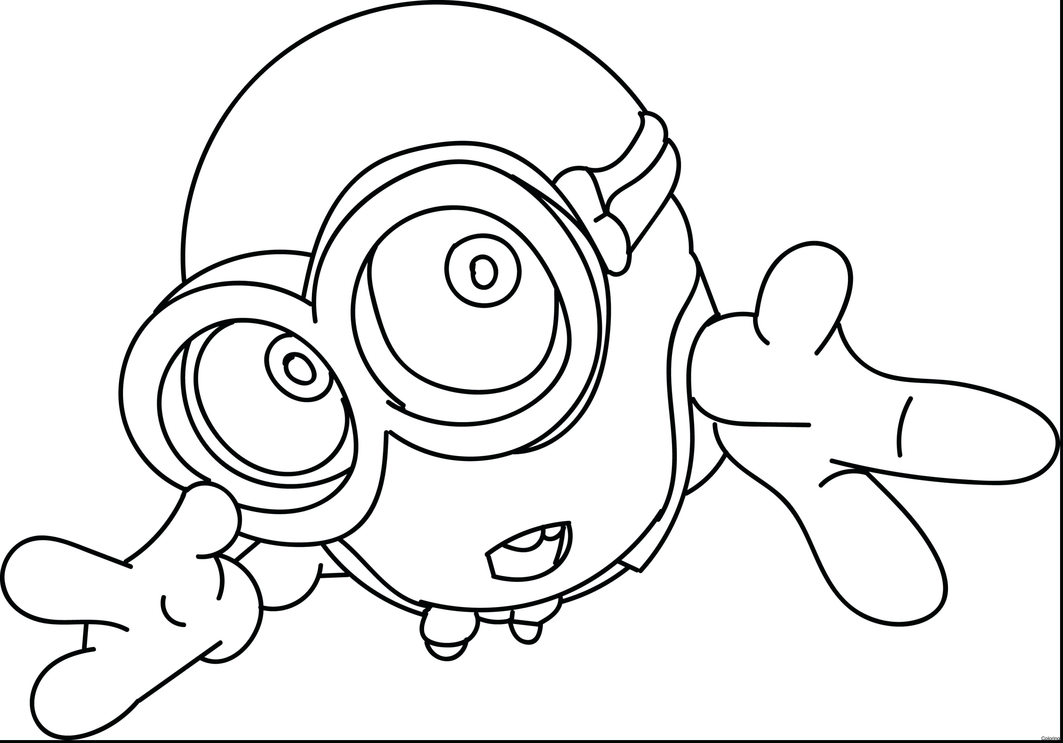3630x2539 Minion Coloring Pages Bob Archives Best Of Minions Page 8f