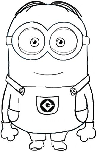326x510 Minion Drawing Pictures