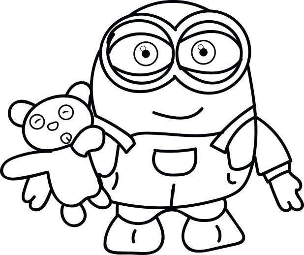 Minion Drawing Bob At Getdrawings Com Free For Personal Use Minion