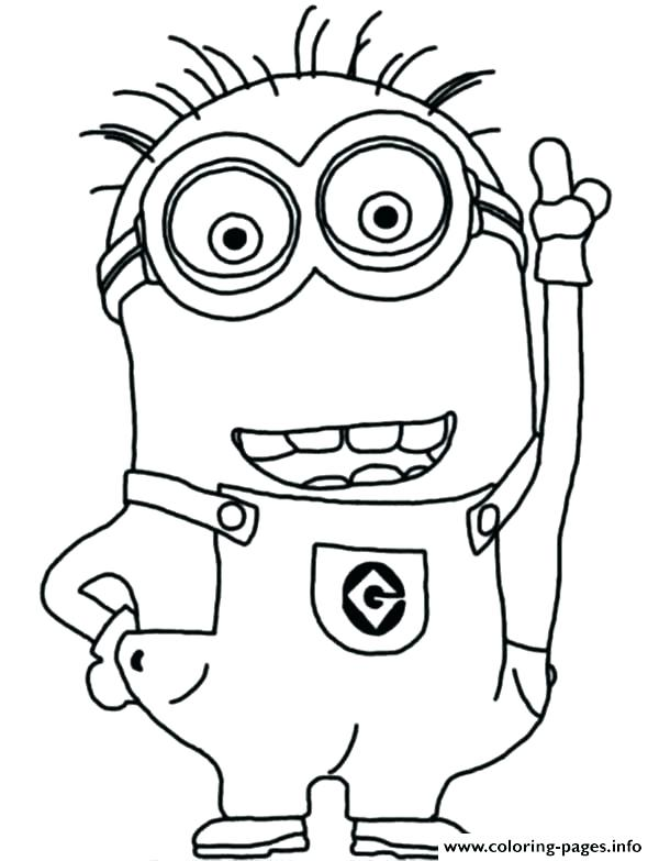 Minion Drawing Template at GetDrawings.com | Free for personal use ...