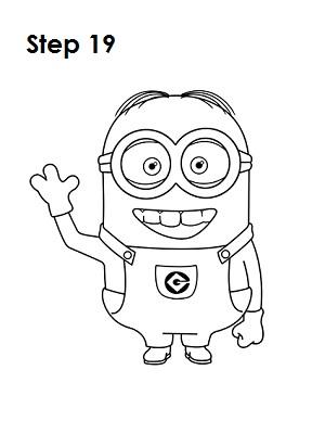 300x388 How To Draw A Minion