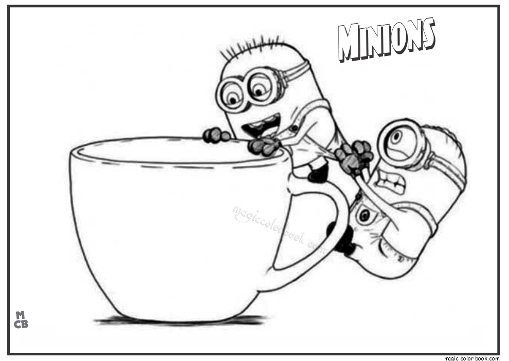 Minion Drawing Template At Getdrawings Com Free For Personal Use