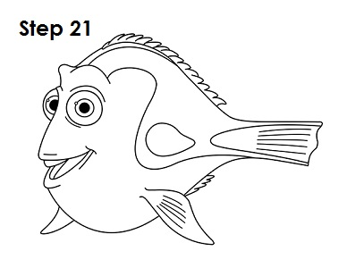 388x300 How To Draw Dory