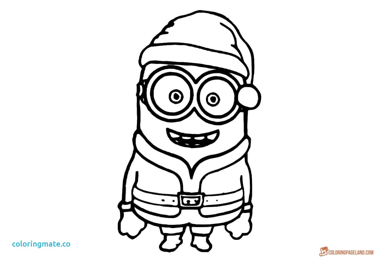 1280x870 Minion Christmas Coloring Pages Awesome Minion Coloring Pages Best