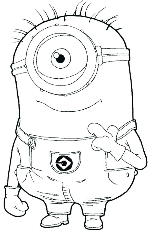 615x958 Minion Coloring Book As Well As Minion Coloring Book How To Draw